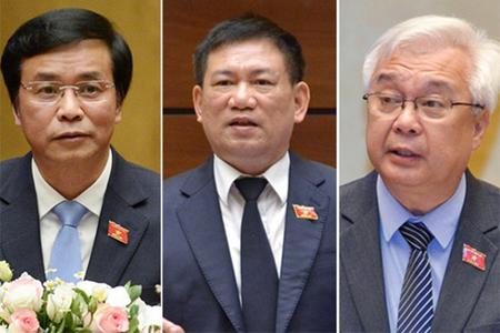 Trình miễn nhiệm Tổng Kiểm toán và 5 ủy viên Ủy ban Thường vụ Quốc hội