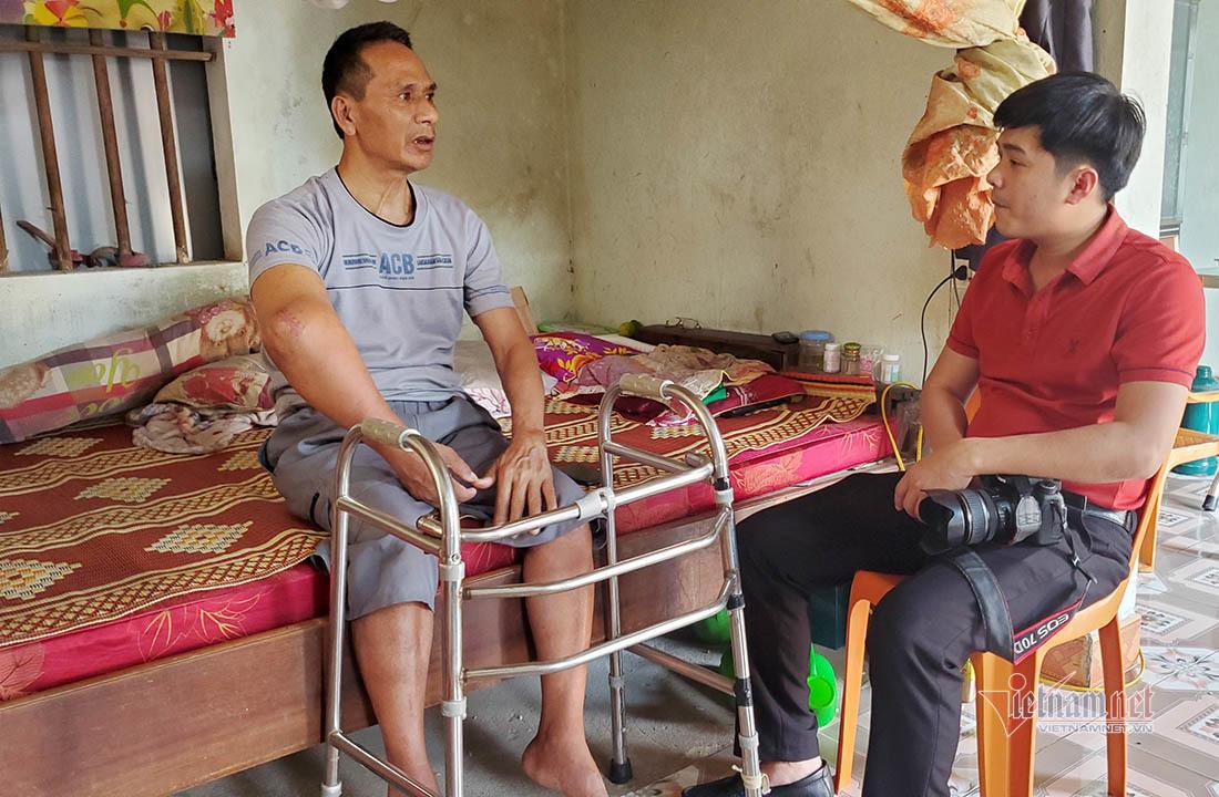 Cảnh nhà bi đát của người phụ nữ một mình chăm chồng con liệt giường
