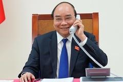 Cuộc điện đàm đầu tiên với 2 lãnh đạo nước ngoài của tân Chủ tịch nước
