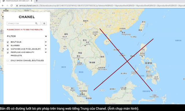 'Đường lưỡi bò' Trung Quốc 'núp' hàng hiệu: Chiêu thức cũ nhưng thâm hiểm