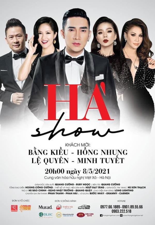 Dàn sao 'khủng' tụ hội trong liveshow của Quang Hà