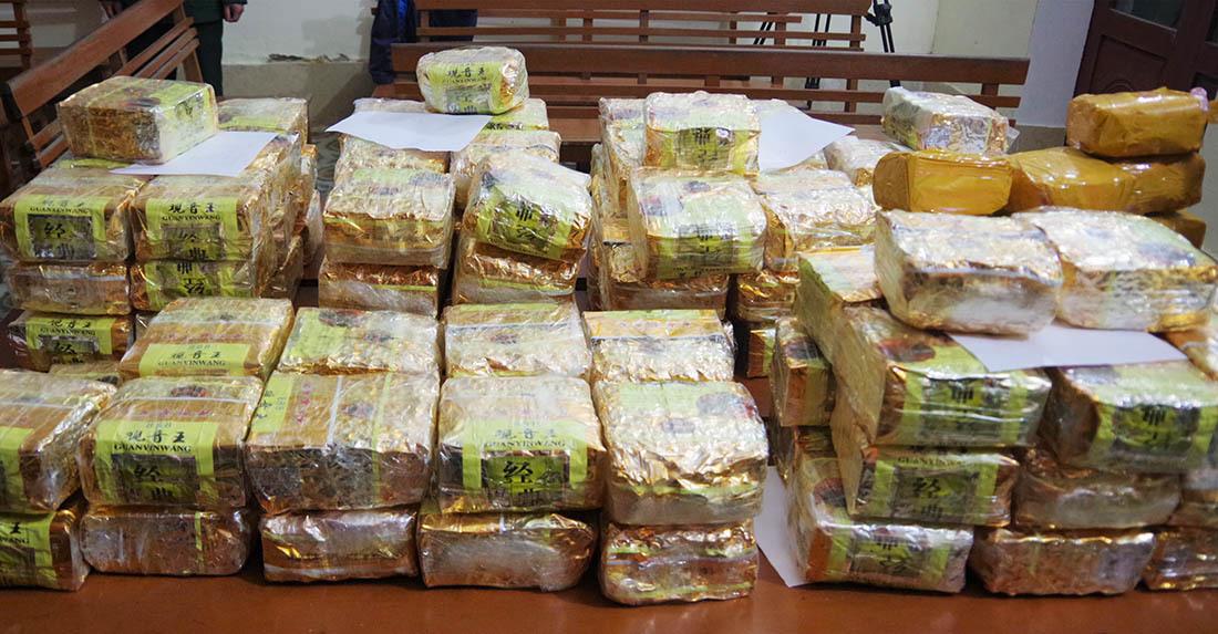 Triệt phá đường dây buôn bán 350kg ma tuý xuyên quốc gia