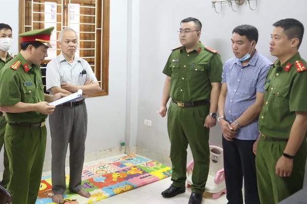 Bắt thêm 2 người liên quan sai phạm đấu thầu tại Sở Y tế Sơn La