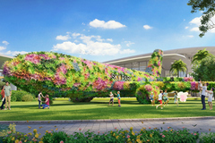 Vừa khai trương, công viên giải trí Gem Sky Park đã đón hàng nghìn lượt khách