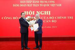 Bộ Chính trị chỉ định ông Đỗ Văn Chiến làm Bí thư Đảng đoàn MTTQ Việt Nam