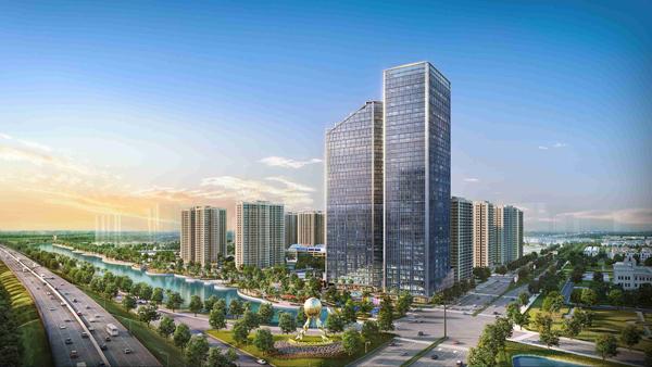 Vingroup ra mắt tòa nhà văn phòng thông minh Techno Park