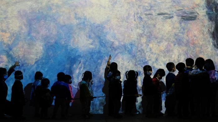 Triển lãm 'Lặng yên rực rỡ': Cuộc gặp gỡ của 2 đại danh họa Pháp