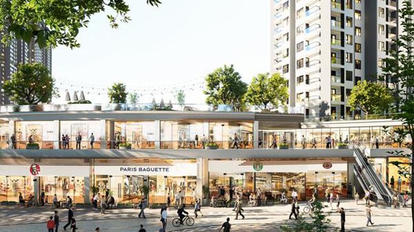 Sắp có đại trung tâm thương mại trên mặt nước ở Việt Nam