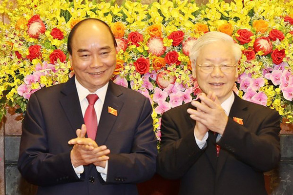 Lễ bàn giao công tác của Chủ tịch nước