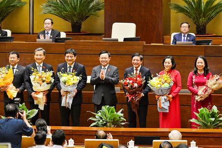 Số phiếu bầu Phó Chủ tịch nước và 5 Ủy viên UB Thường vụ Quốc hội