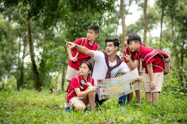 Trại hè Anh ngữ VAS 2021 đưa trẻ về với thiên nhiên