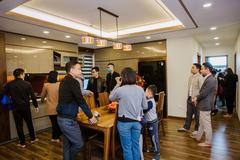 'Nhà sang không gian phải rộng': căn hộ 4 phòng ngủ tại Diamond - Goldmark City