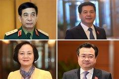 Thủ tướng trình 12 nhân sự làm Bộ trưởng, trưởng ngành