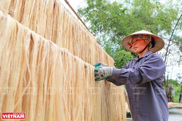 Vietnamese banana fibers reach out to world market