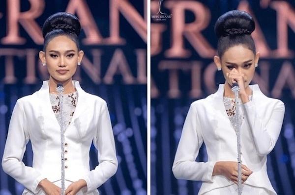 Hoa hậu Hoà bình Myanmar bị truy nã
