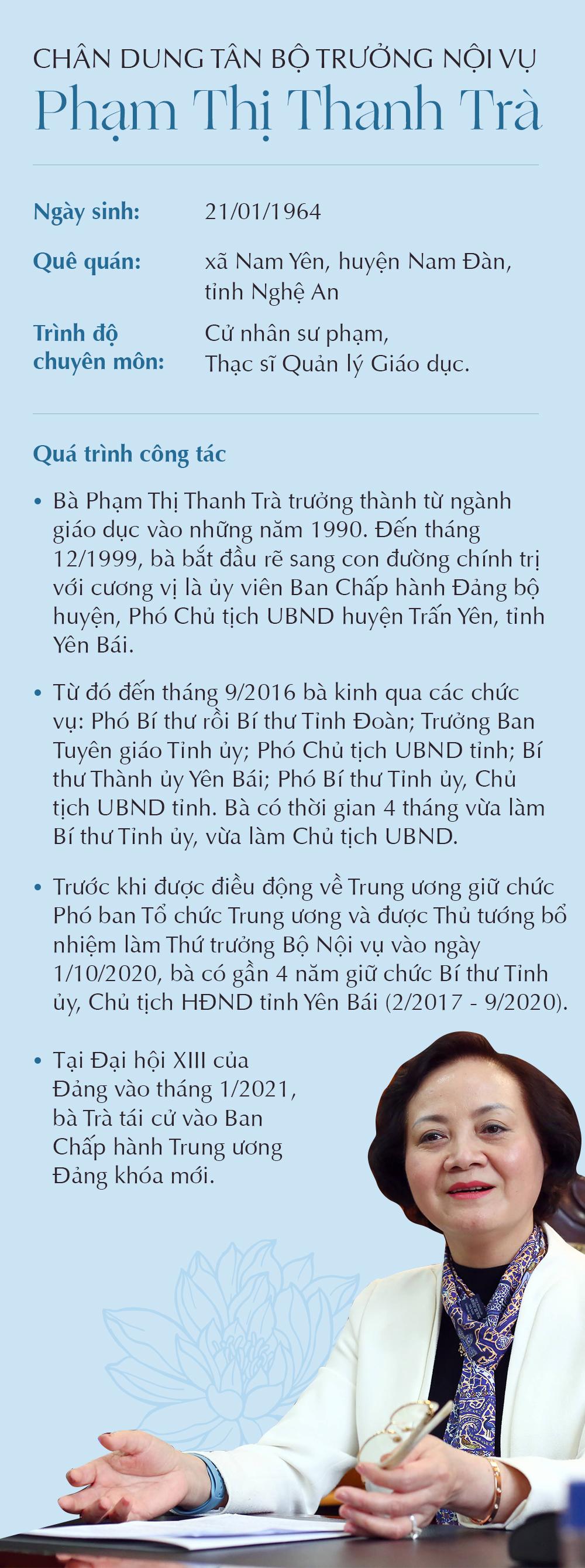 Bà Phạm Thị Thanh Trà, nữ bộ trưởng duy nhất vừa được phê chuẩn