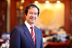 Tân Bộ trưởng Nguyễn Kim Sơn gửi thư cho giáo viên cả nước