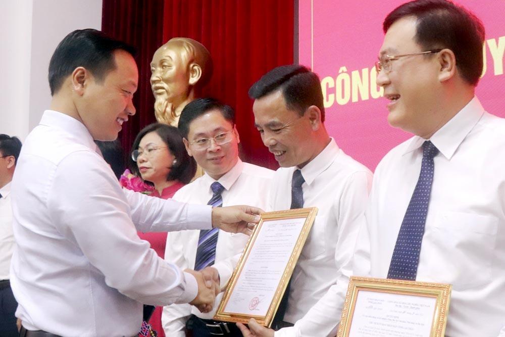 Lai Châu bổ nhiệm tân Giám đốc Sở Thông tin và Truyền thông