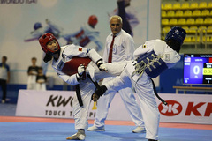 Taekwondo fighters to fight for Olympic glory