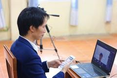 Trường công lập ở Hà Nội bắt đầu kiểm tra học kỳ II trực tuyến