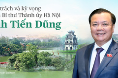 Newly-elected Hanoi Party Secretary faces great responsibility, high expectations
