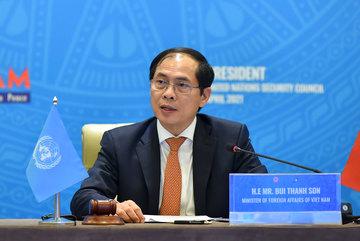 Tân Bộ trưởng Ngoại giao chủ trì thảo luận Hội đồng Bảo an Liên hợp quốc