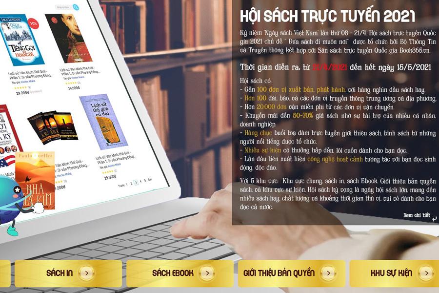 32 nước sẽ giao dịch bản quyền tại hội sách trực tuyến trên sàn Book365.vn