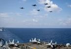 Nhóm tàu sân bay Mỹ diễn tập tại Biển Đông