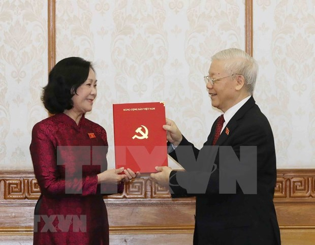 Truong Thi Mai,Party Central Committee,CPV