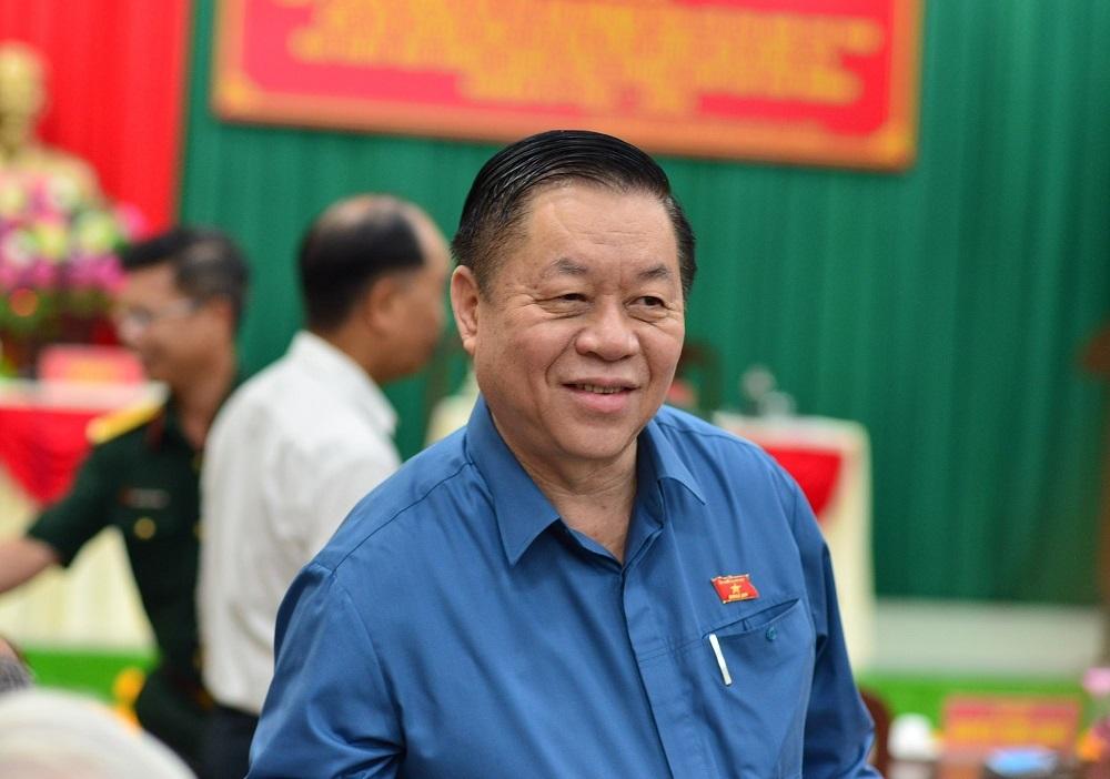 Ông Nguyễn Trọng Nghĩa được 100% cử tri tín nhiệm, ứng cử ĐBQH