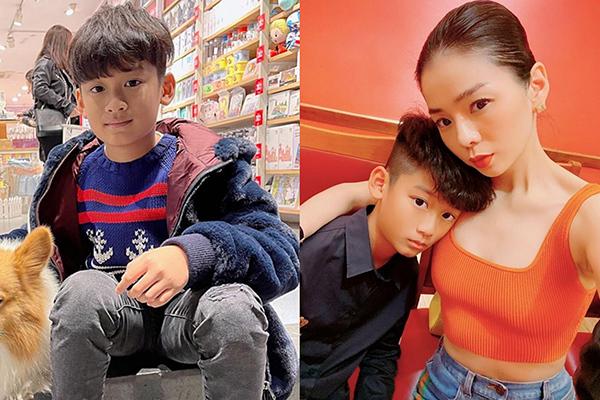 Con trai 11 tuổi điển trai của Lệ Quyên và chồng doanh nhân
