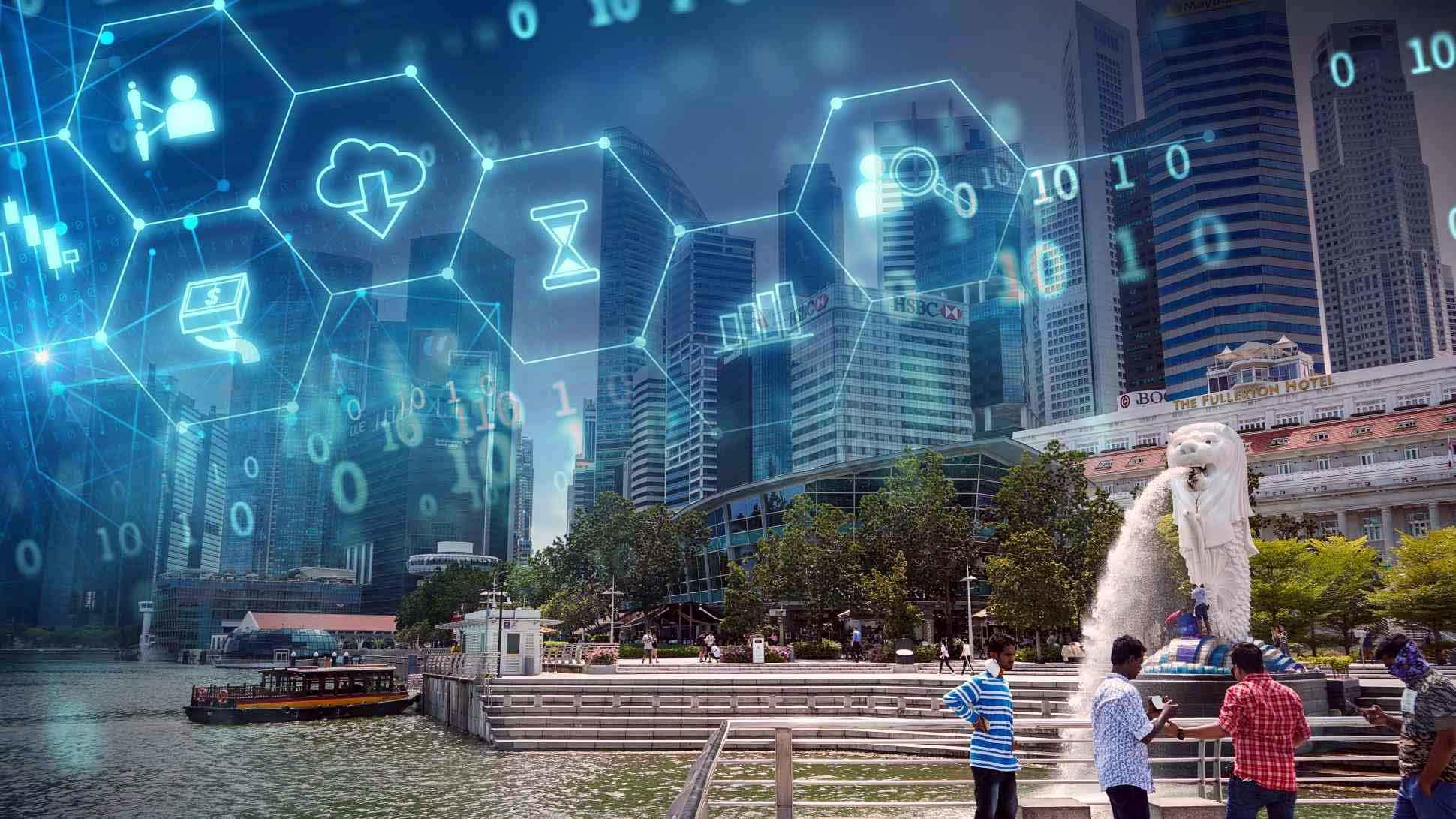 Hành trình Singapore chuyển đổi số xây dựng quốc gia thông minh