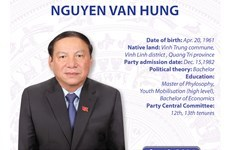Minister of Culture, Sports and Tourism Nguyen Van Hung