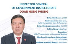Inspector General of Government Inspectorate Doan Hong Phong