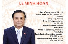 Minister of Agriculture and Rural Development Le Minh Hoan