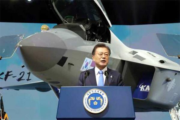 Hàn Quốc hé lộ mẫu tiêm kích tự chế