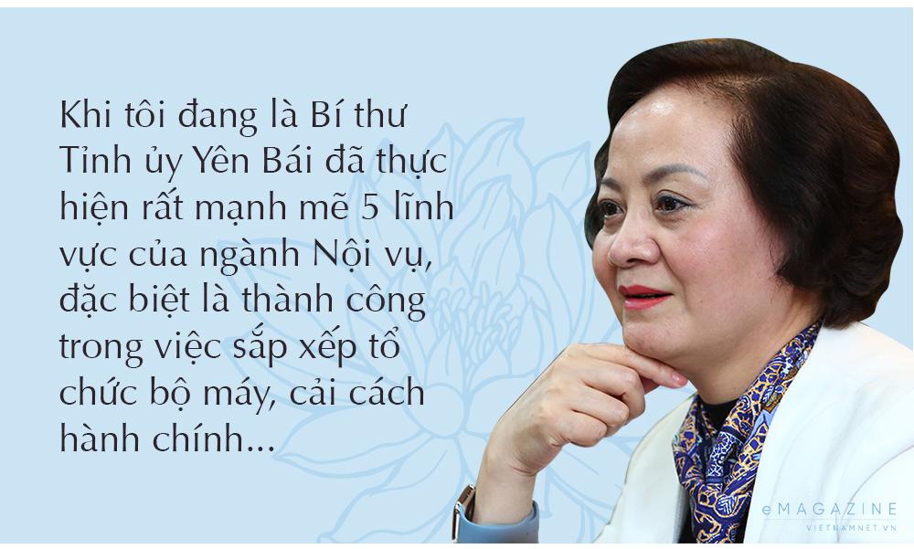 Phạm Thị Thanh Trà,Bộ Nội vụ
