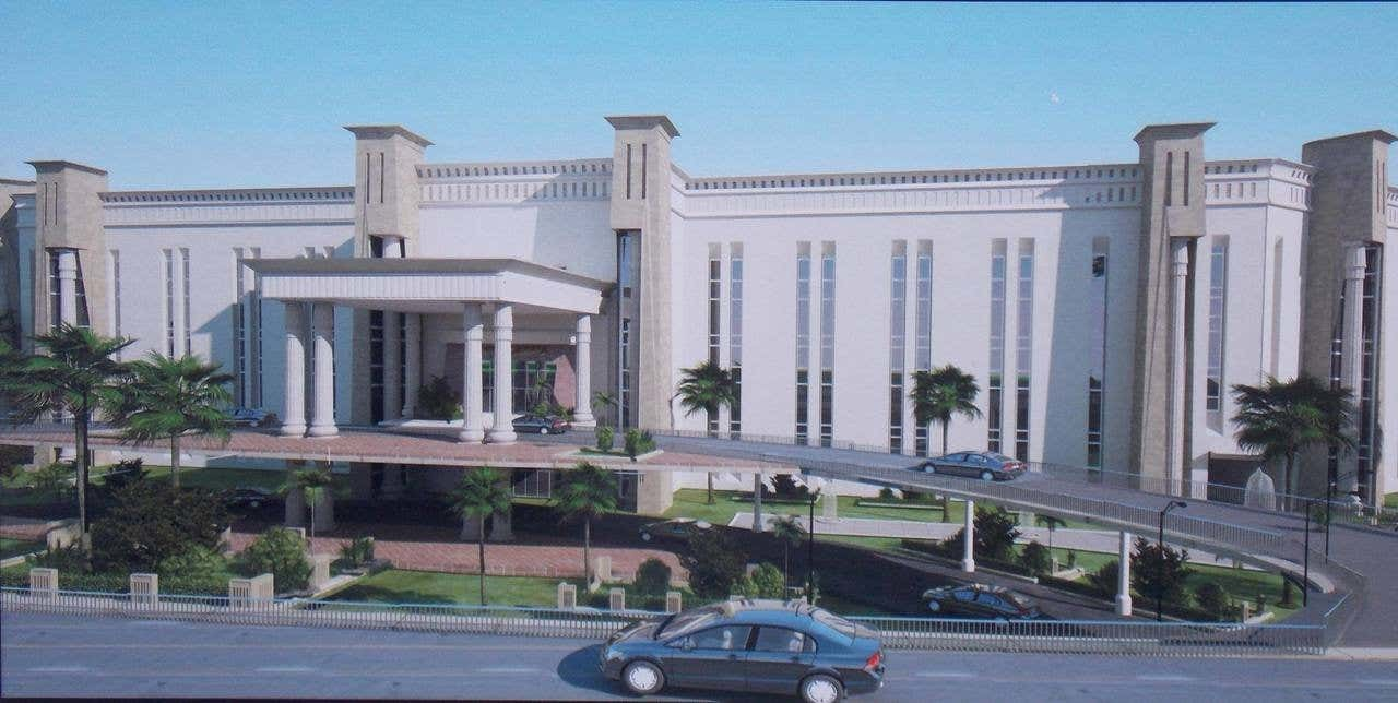 Cận cảnh Bát Giác Đài, trụ sở mới của Bộ Quốc phòng Ai Cập