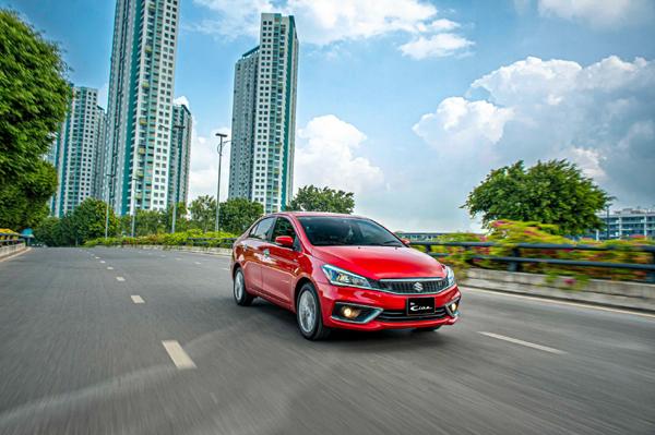 Suzuki Ciaz mới - sedan hạng B sở hữu không gian rộng rãi ấn tượng