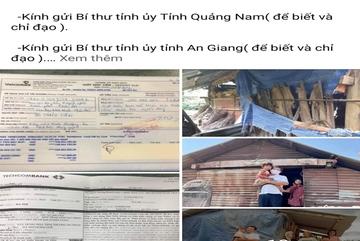 Ông Đoàn Ngọc Hải đòi lại tiền xây nhà cho người nghèo, Quảng Nam thừa nhận sai sót
