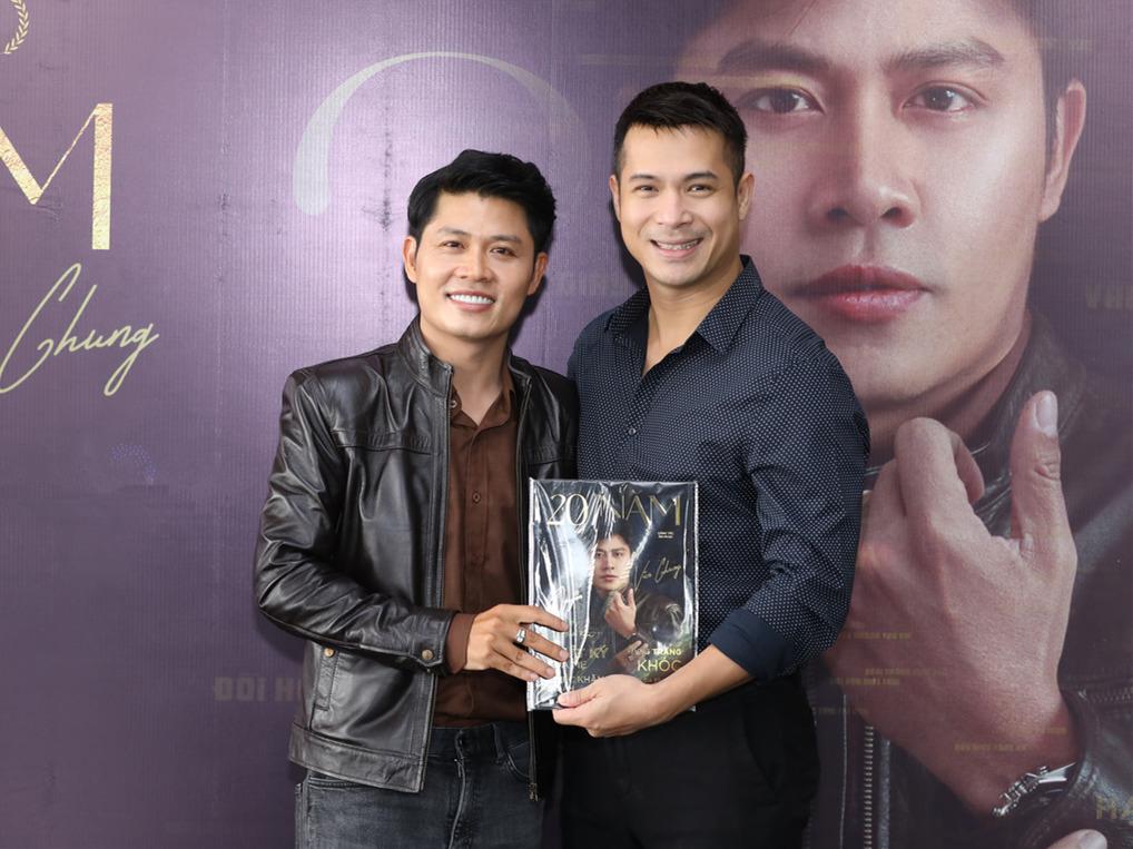 Nguyên Vũ từng cạch mặt Trương Thế Vinh vì giành hát nhạc Nguyễn Văn Chung