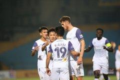 Video bàn thắng Hà Nội 4-0 Than Quảng Ninh