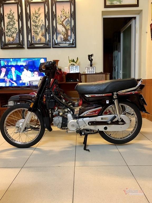 Honda Dream Thái 21 năm tuổi biển tam hoa giá hơn 100 triệu đồng