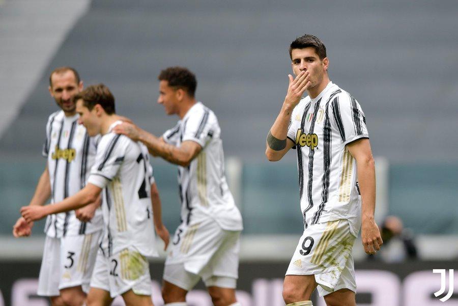 Morata che mờ Ronaldo, Juventus thổi lửa vào gáy Milan - tống đông khuê