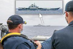 Hải quân Mỹ cảnh báo đang giám sát tàu sân bay Trung Quốc ở Biển Đông