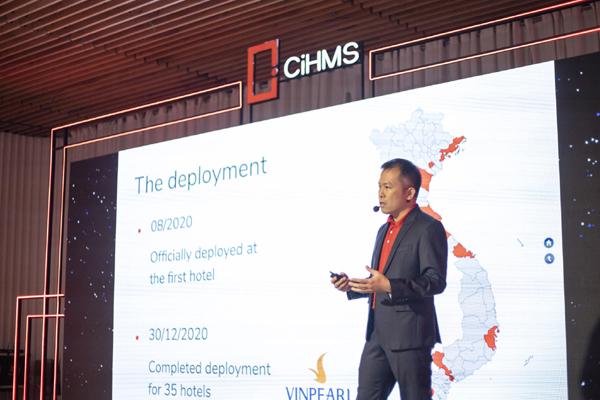Vingroup ra mắt giải pháp chuyển đổi số quản lý và vận hành khách sạn toàn diện CiHMS