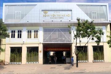 Bộ Công an xác minh gói thầu mua sắm thiết bị ở BV Tim Hà Nội