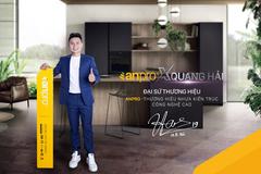 Quang Hải tiếp tục là đại sứ thương hiệu nhựa kiến trúc AnPro