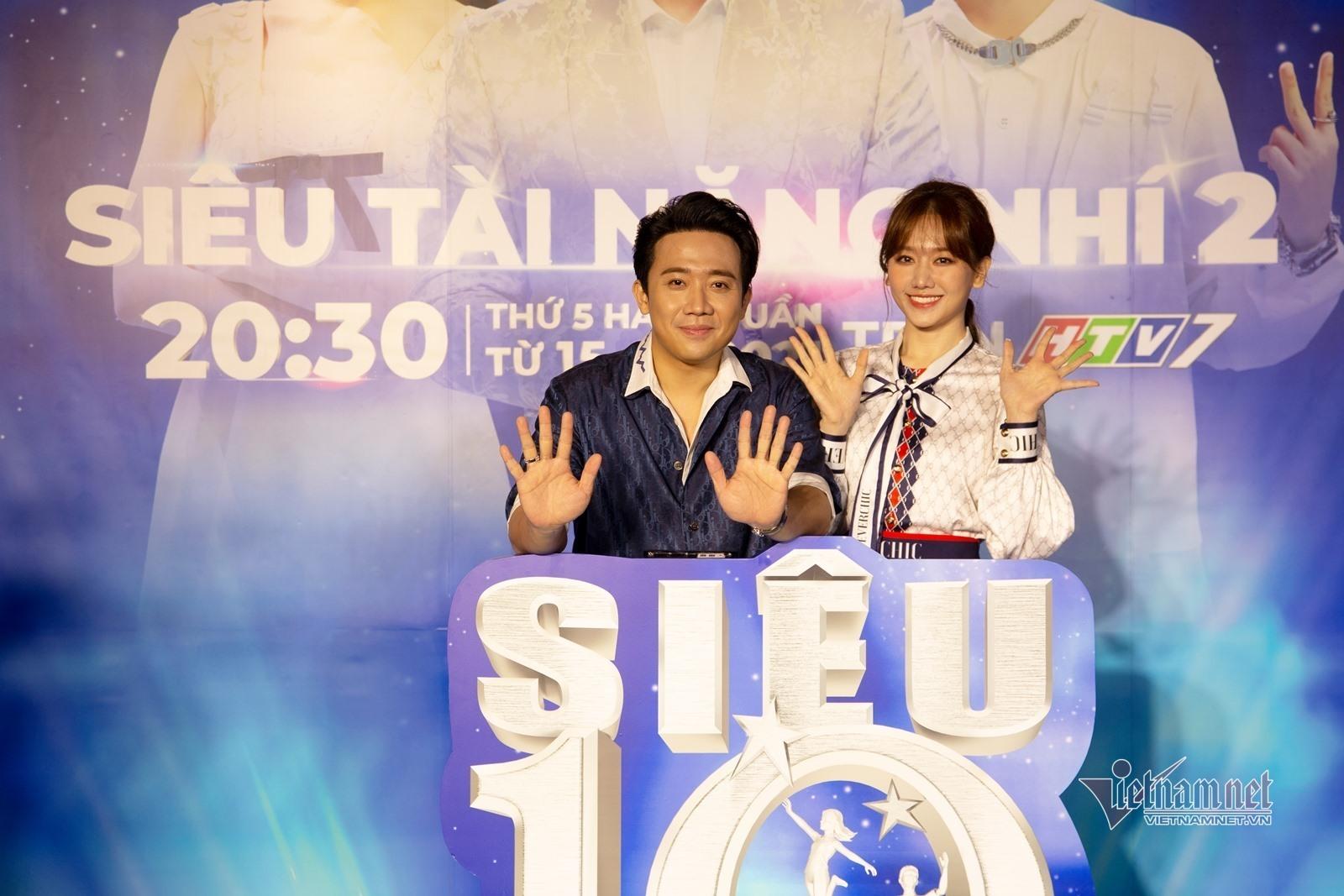 Trấn Thành, Hari Won: 'Chúng tôi muốn con mình nhanh trí, nhân hậu'