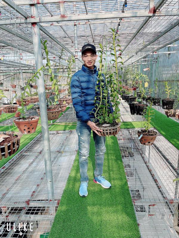 Bí quyết thành công của ông chủ vườn lan 9x